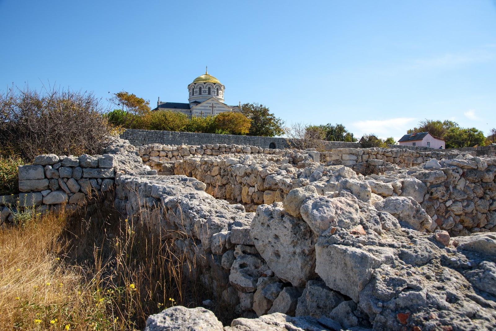 Фотографии Херсонеса. Крым
