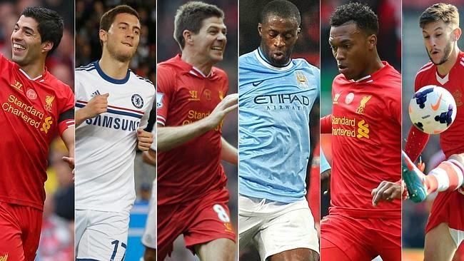 Daftar 11 Pemain Terbaik Liga Inggris 2013-2014