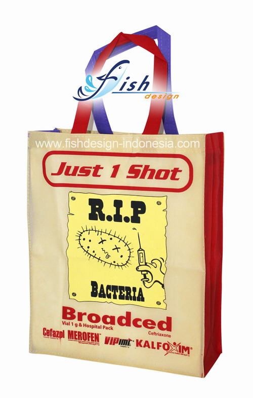 Tas Promosi Spunbond Just 1 Shot