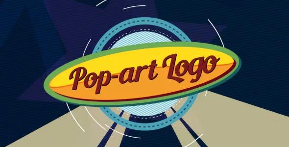 Pop-art Logo Ident 7656902