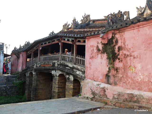 pont couvert japonais vieille ville hoi an vietnam