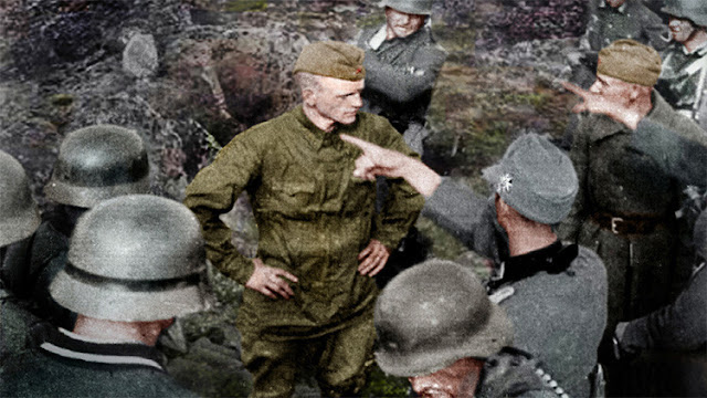 Un soldado ruso desafía sin temor a los nazis antes de su muerte