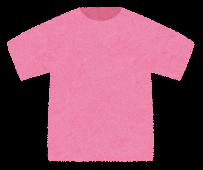 いろいろな色のtシャツのイラスト かわいいフリー素材集 いらすとや