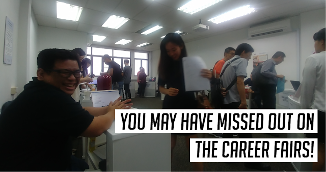 [Past Events] You may have missed out on the Career Fairs!