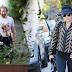 FOTOS HQ: Lady Gaga en la casa de Bradley Cooper en Los Ángeles - 28/12/16