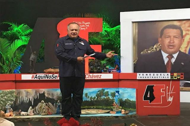 """¡BUSCANDO CULPABLES! Cabello acusó al presidente de Banesco de estar implicado en los """"ataques"""" contra la moneda en la frontera"""