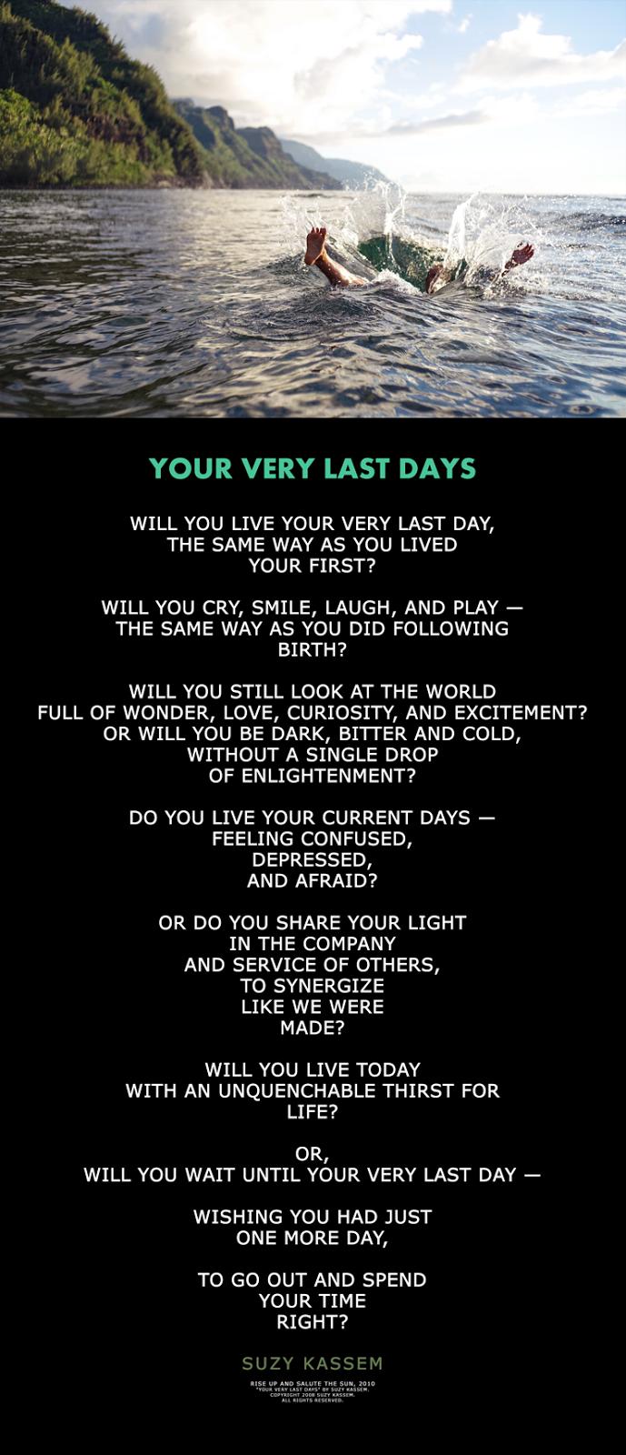 Life Poem Suzy Kassem