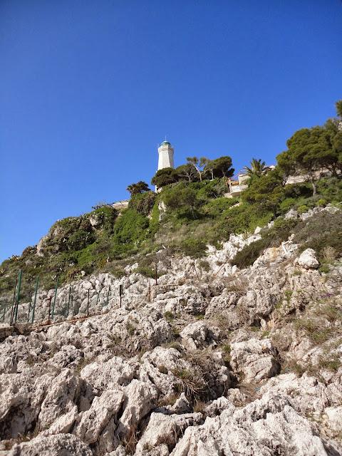 Saint jean cap ferrat, phare, randonnée, nice
