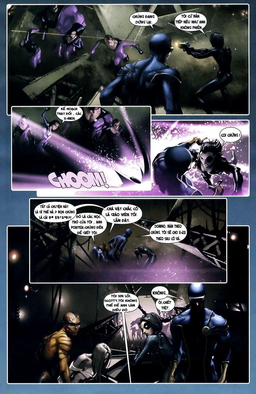 X-Men Necrosha chap 3 trang 11