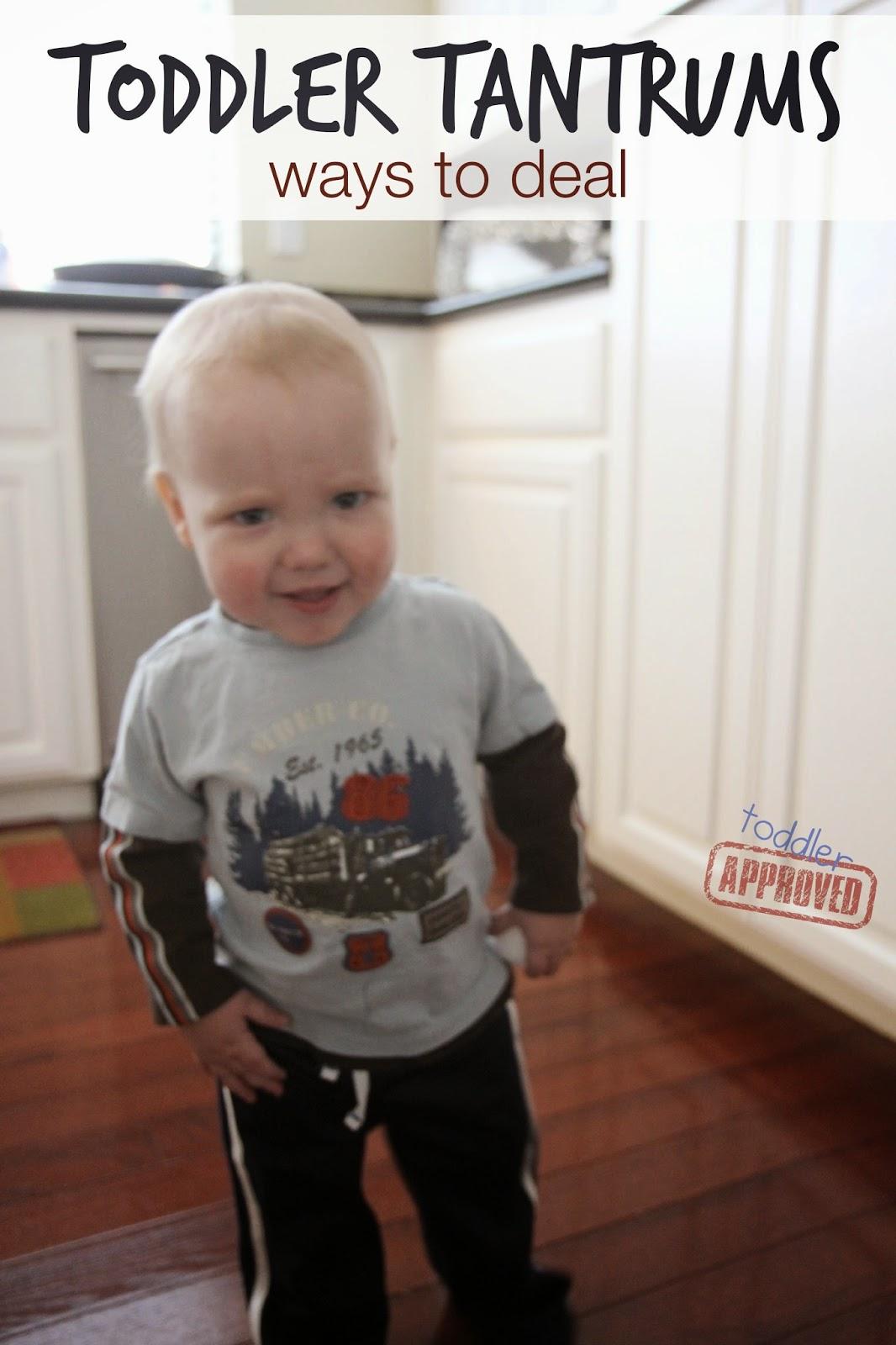 Toddler Tantrums... Ways to Deal