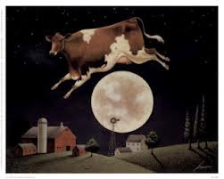 God makes the cow jump over the moon