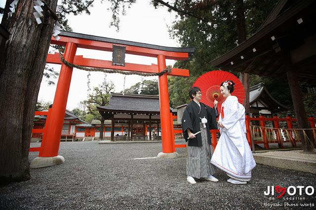 京都前撮りロケーション撮影|吉田神社