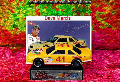 Dave Marcis #41 Kellogg's, Racing Champions, 1/64, NASCAR, blog, 1992, die-cast, greg sacks, hut stricklin