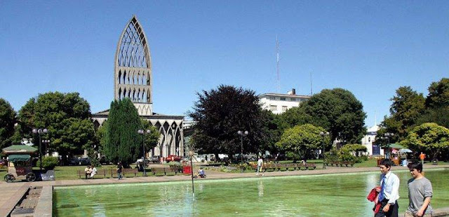 City of Osorno, South of Chile.