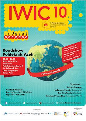 IWIC 10 Roadshow Politeknik Aceh