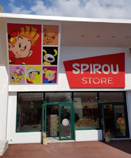 Boutique parc Spirou