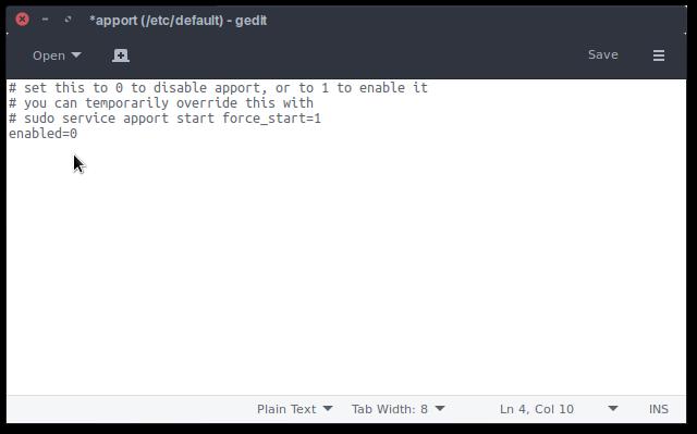 Cara Menonaktifkan / Disable Error Reporting System di Ubuntu