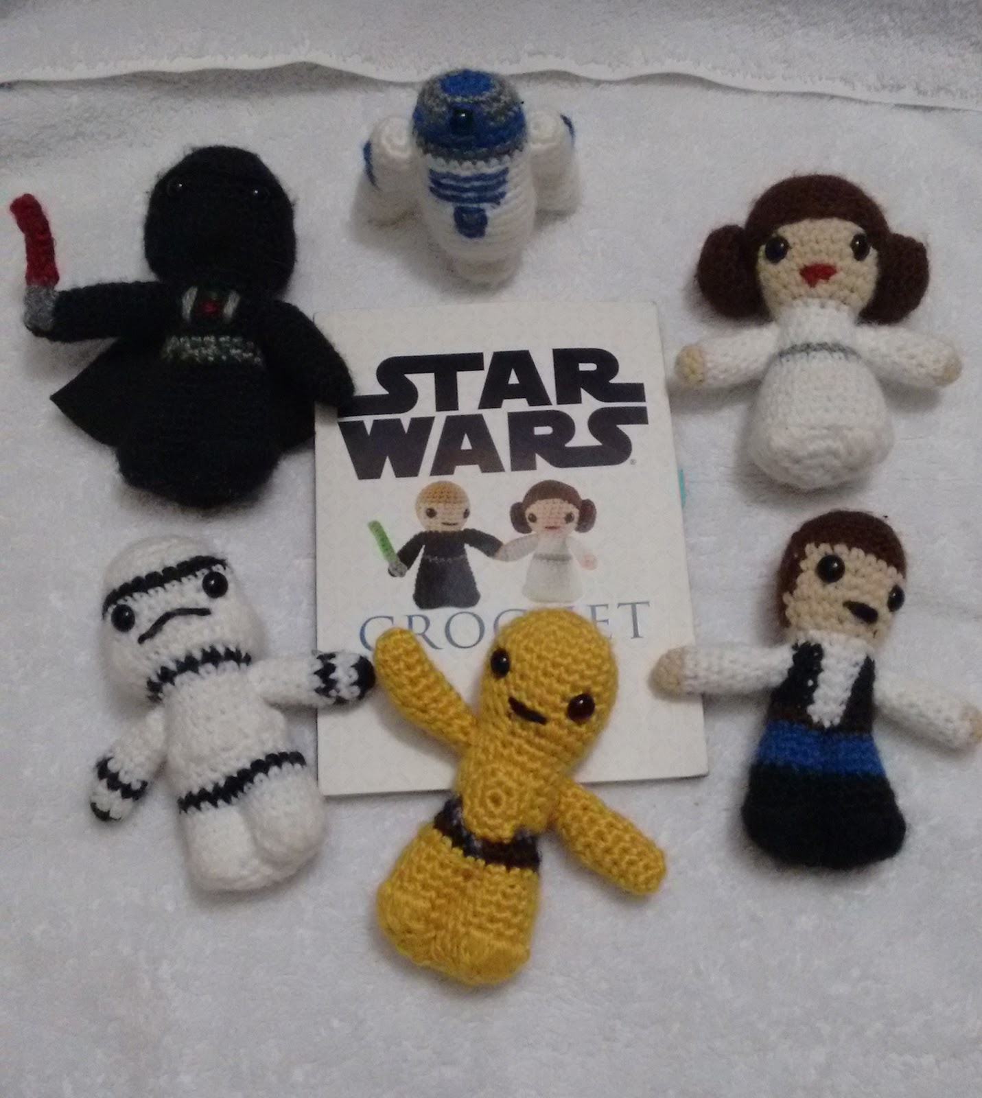 Gifted Paws Star Wars Crochet