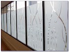 Crackled GLASS WINDOW Film