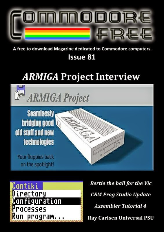 Commodore Free Magazine Issue 81 - 2014