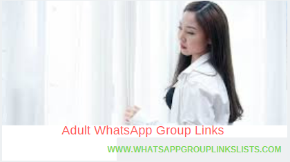 Join Adult WhatsApp Group links list