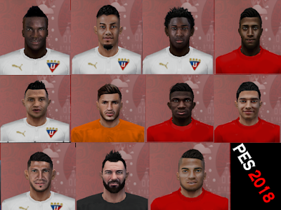 PES 6 Facepack Copa Lubricantes Havoline 2018 by Luis Facemaker