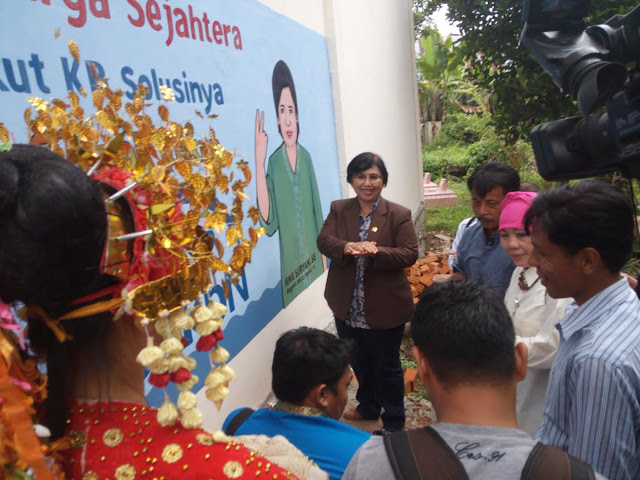 Irma Suryani Resmikan Kampung KB