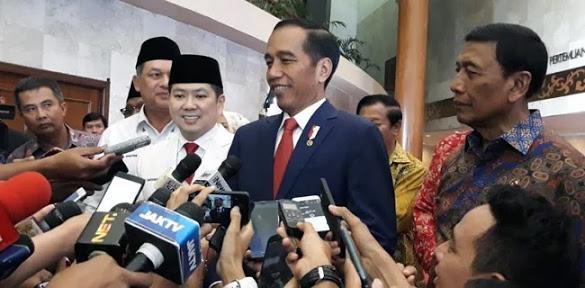 Jokowi Ogah Komen Soal Bencana Nasional