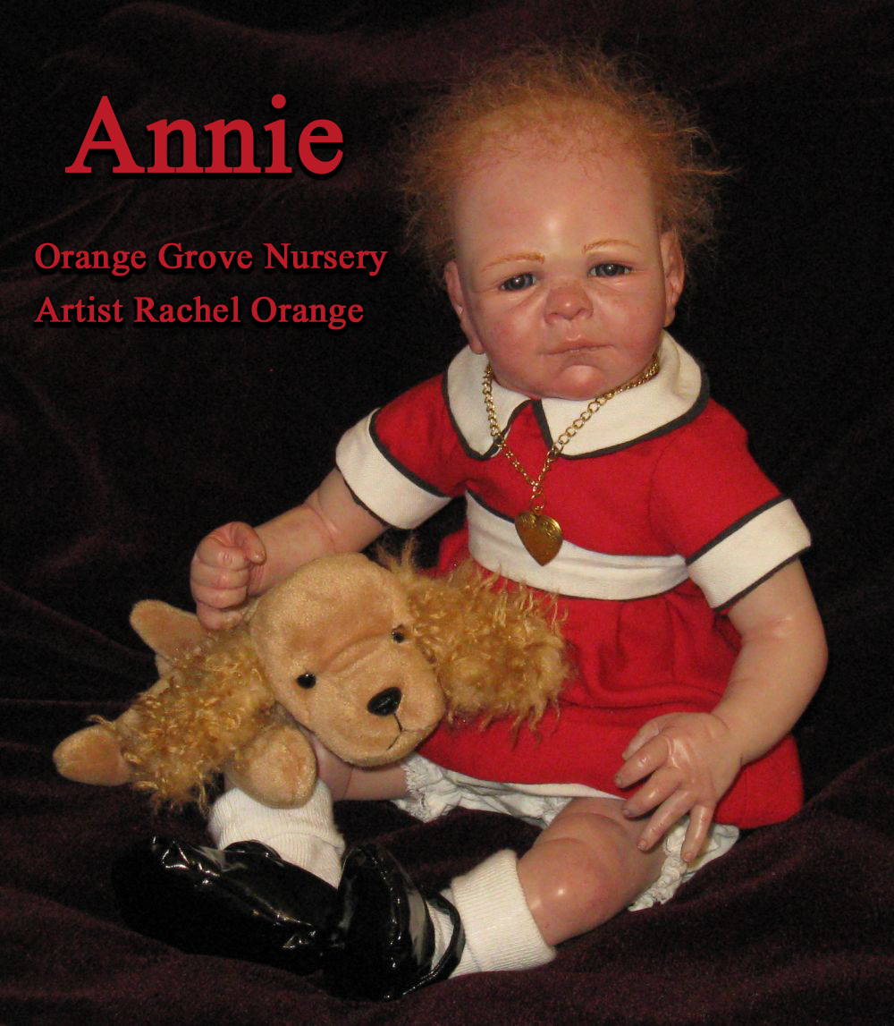 Orange Grove Nursery Little Orphan Annie Ooak Reborn