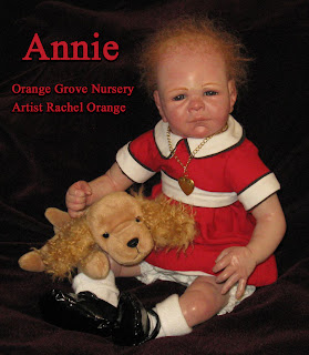 Orange Grove Nursery Little Orphan Annie Ooak Reborn