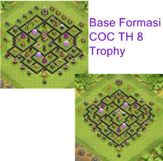 Formasi Base COC TH 8