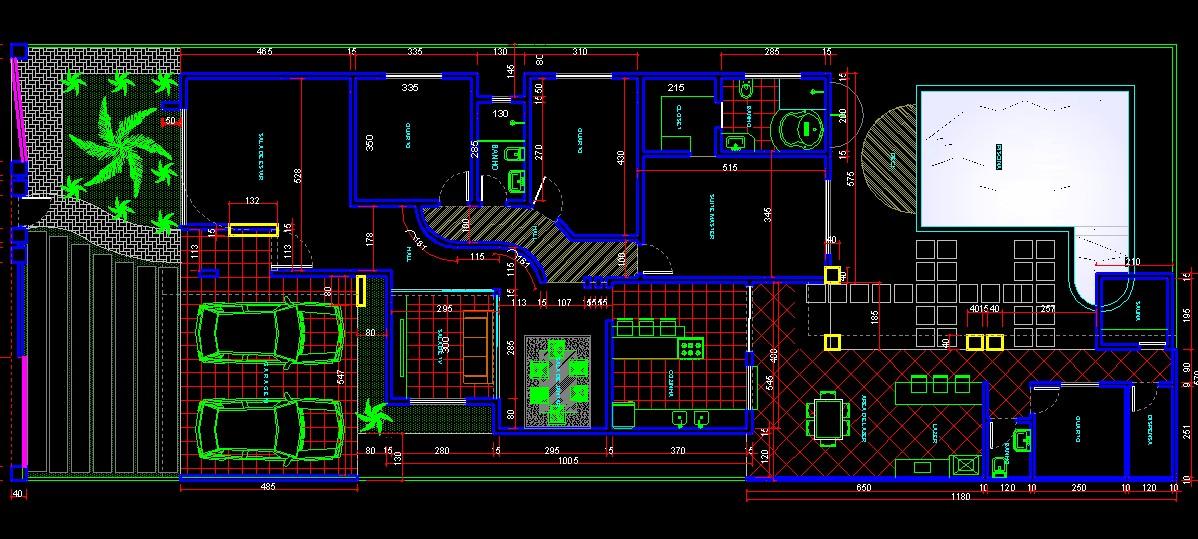 3danilo maquetes eletr nicas 3d casa de for Casa cad