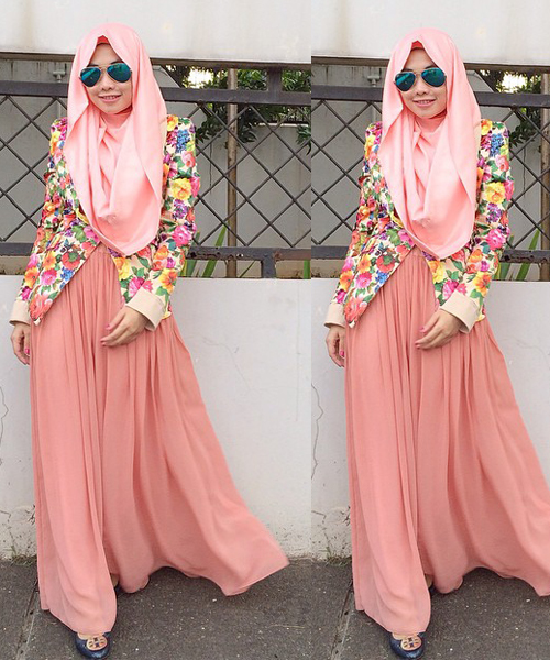 Tips Hijab Dari Mrs Pastelicious Miss Pastel Memadu Padankan