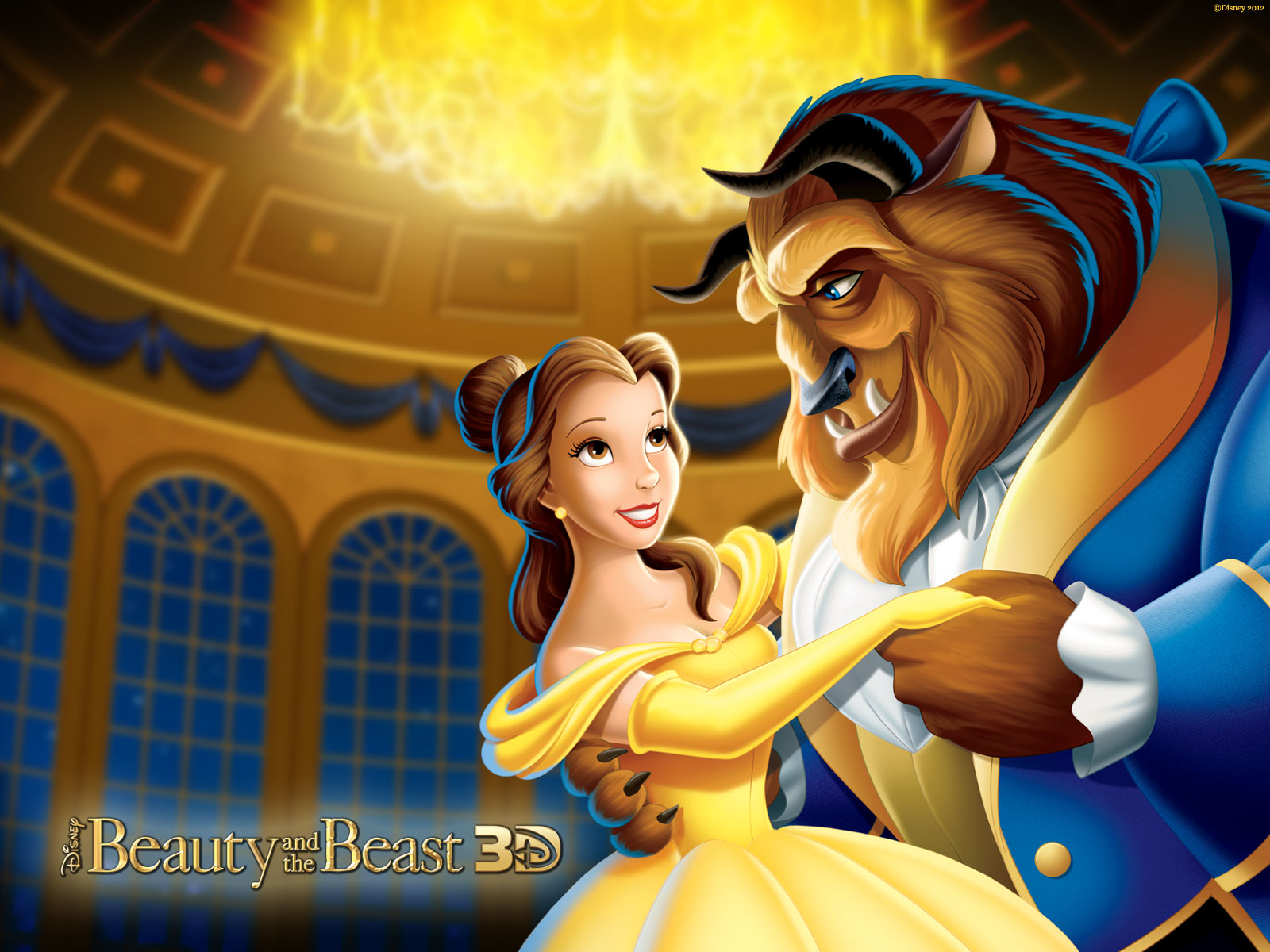 Disney Hd Wallpapers Beauty And The Beast Hd Wallpapers