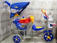 Sepeda Roda Tiga Family FT9046T 2 Kursi Kelinci Seri Pesawat