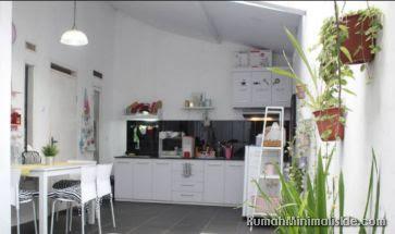 desain dapur terbuka dibelakang rumah
