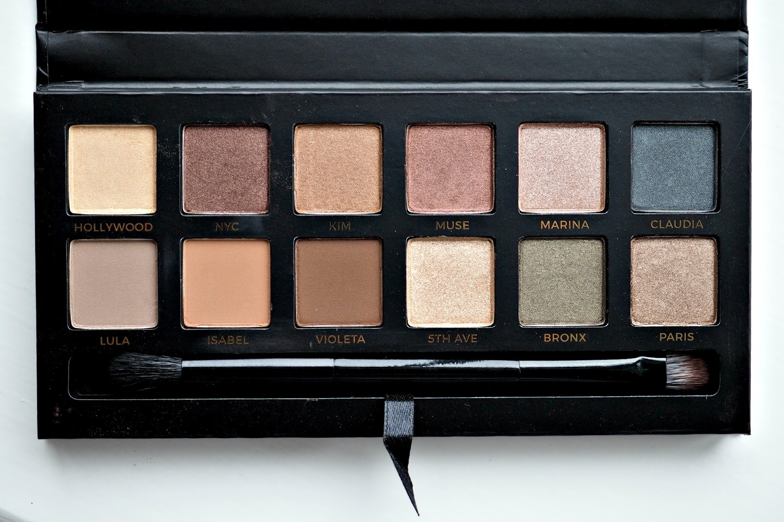 Anastasia Beverly Hills Master by Mario Palette Review & Swatches