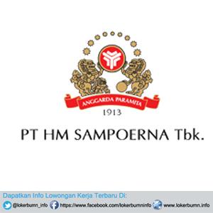 Lowongan Kerja PT HM Sampoerna Tbk Lulusan SMA SMK D3 S1 Semua Jurusan