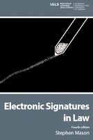 Cover of Electronic Signatures in Law