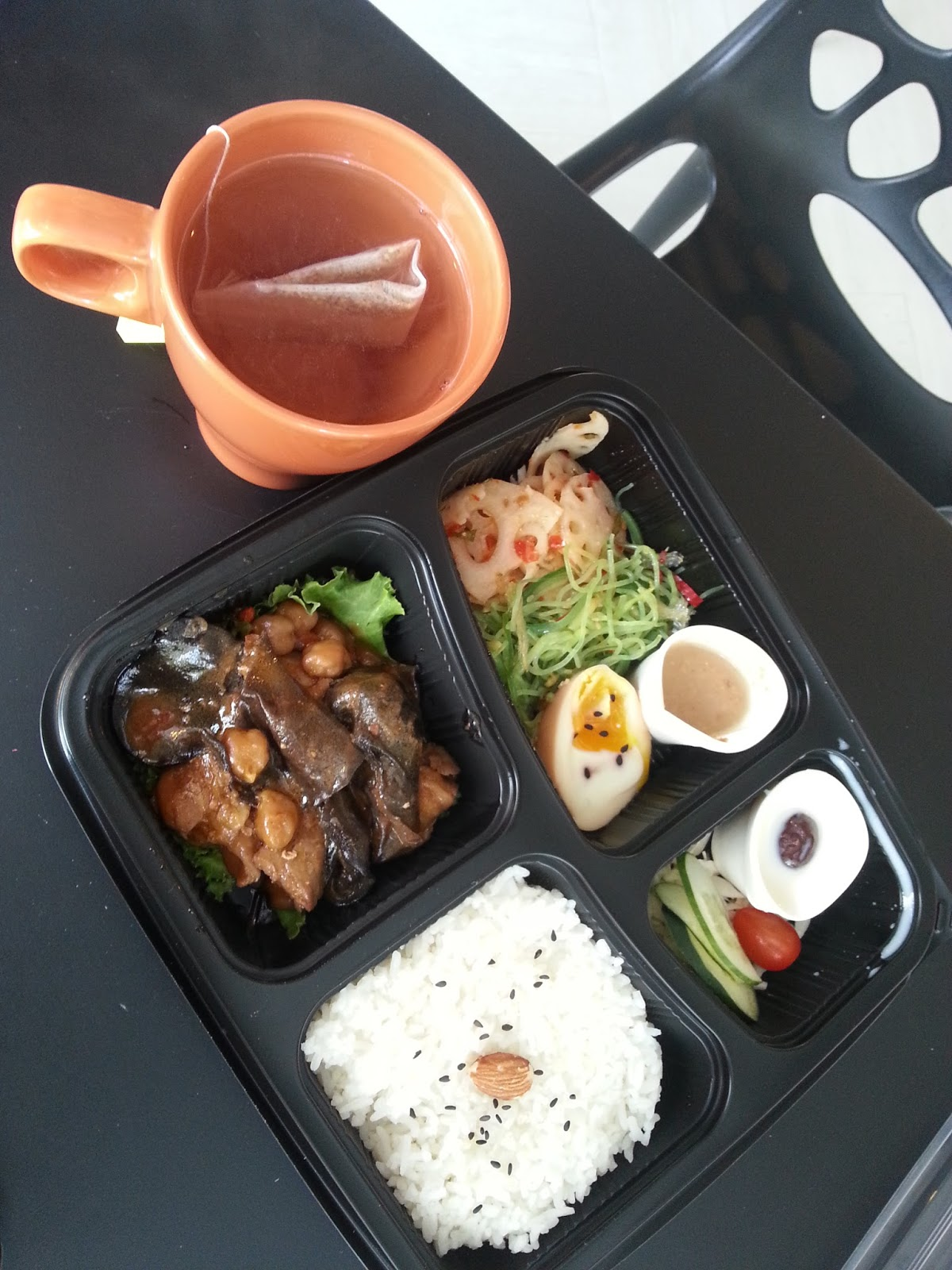 kimnana bento delivery of lunch set to