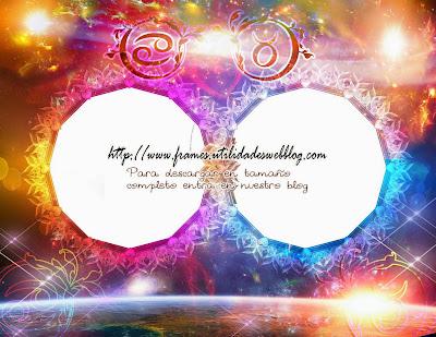 Marcos para fotos de enamorados del signo zodiacal Cancer y Tauro