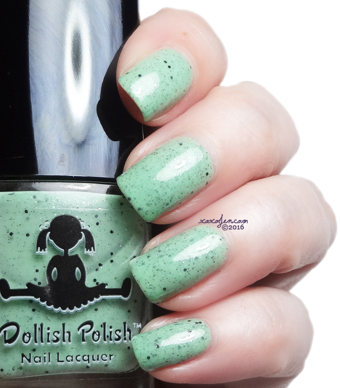 xoxoJen's swatch of Dollish Polish I Never Mint To Eat The Whole Cake
