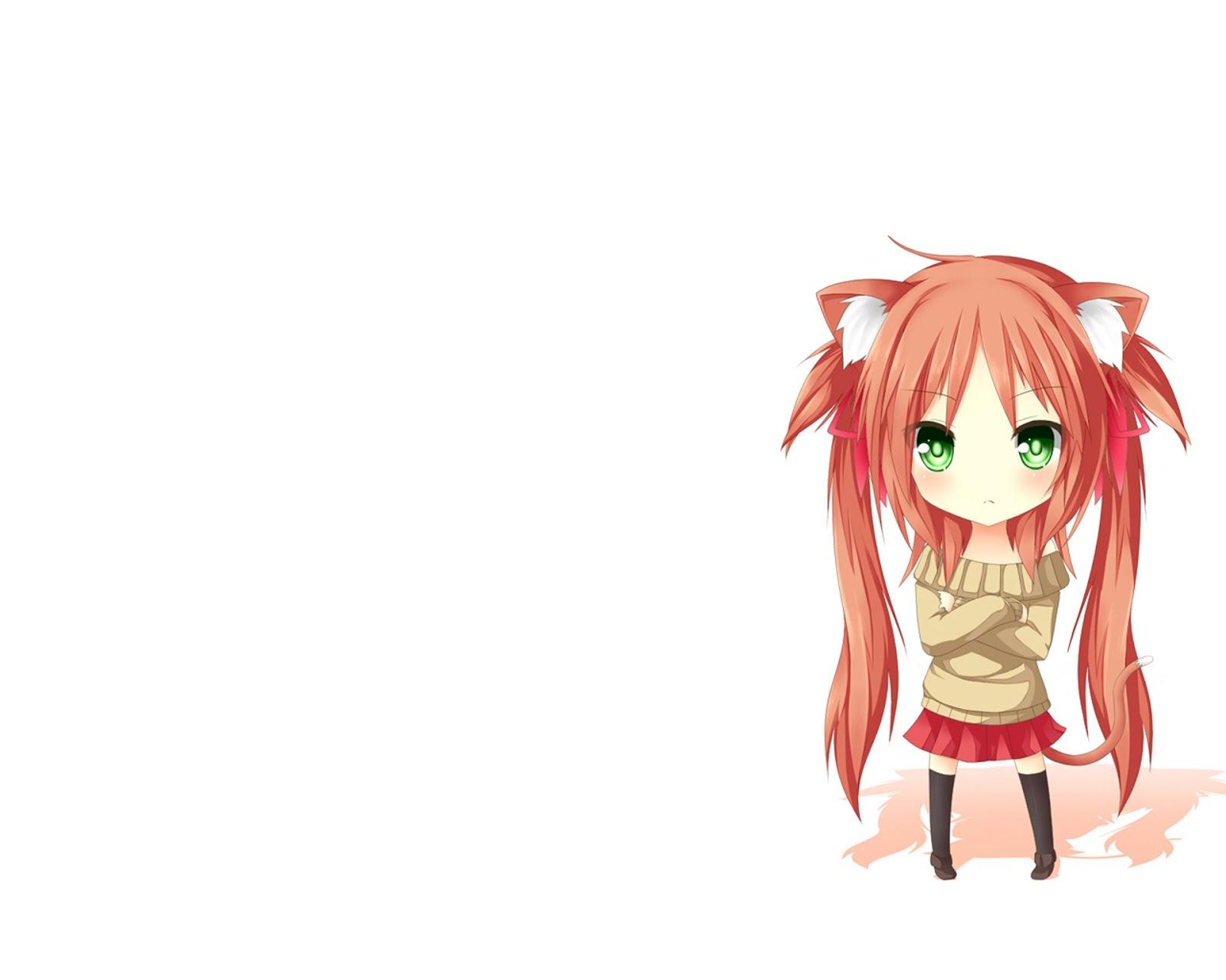 Chibi vocaloid for desktop wallpaper cute png file - Chibi background ...