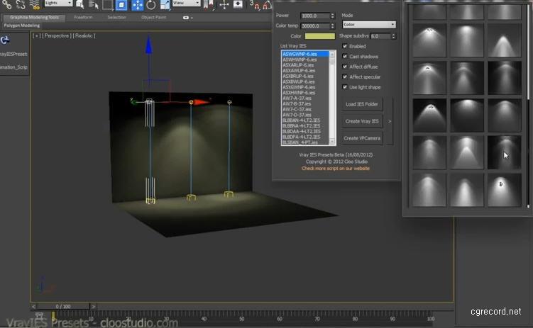 Vrayies presets script for 3ds max computer graphics - 3ds max vray exterior lighting tutorials pdf ...