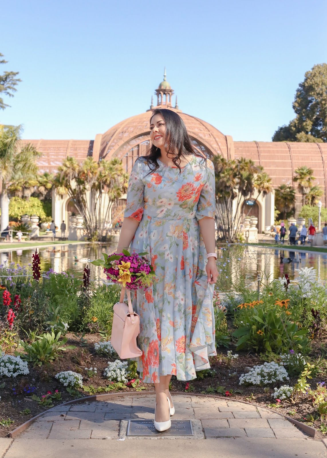 Fashion in Balboa Park, best places to take pictures in San Diego