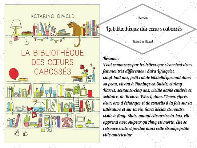 Katarina Bivald La bibliothèque des cœurs cabossés
