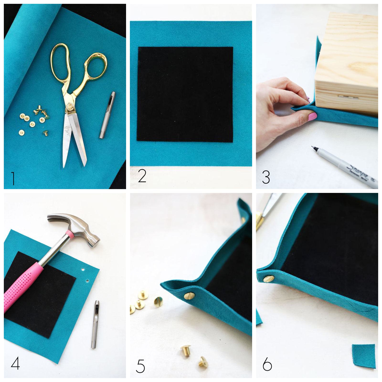 Ioanna's Notebook - DIY Coin Dish Step by Step