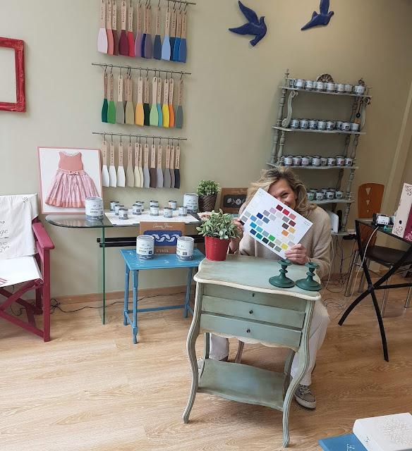 Paint Melody: Άννα Ασημομύτη 1 Annie Sloan Greece