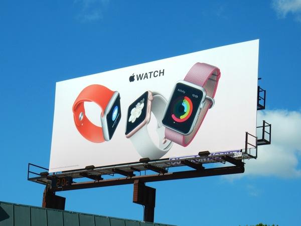 Apple Watch 2016 billboard