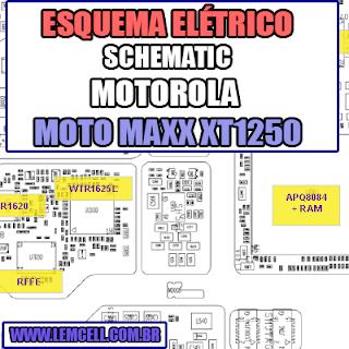 Esquema Elétrico Smartphone Motorola Moto Maxx XT1225, XT1250, XT1254 Manual de Serviço